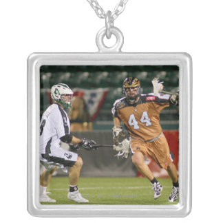 ROCHESTER, NY - MAY 21: Greg Bice #44 Silver Plated Necklace