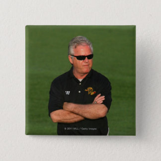 ROCHESTER, NY - MAY 21: Head coach B.J. O'Hara Button