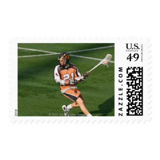ROCHESTER, NY -MAY 21: Martin Cahill #21 Postage Stamp