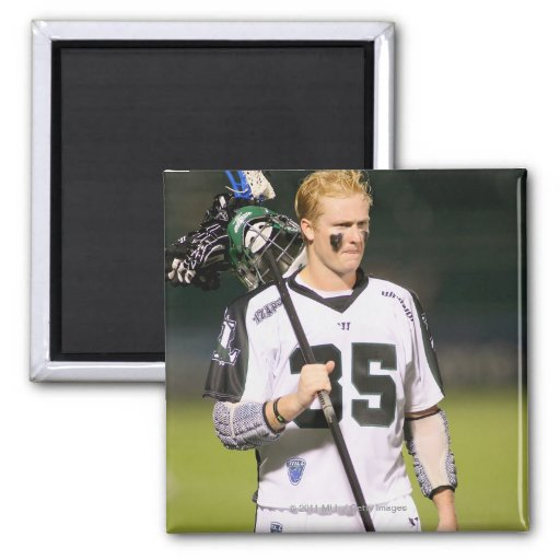 ROCHESTER, NY - MAY 21:Parker McKee #35 2 Inch Square Magnet