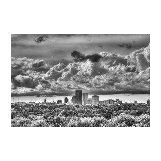 Rochester, NY skyline Canvas Print
