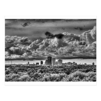 Rochester NY Skyline Postcard