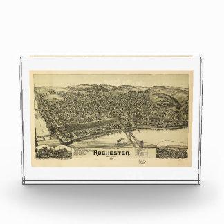 Rochester, Pennsylvania (1900) Acrylic Award