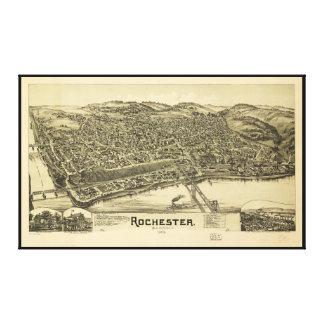 Rochester, Pennsylvania (1900) Canvas Print