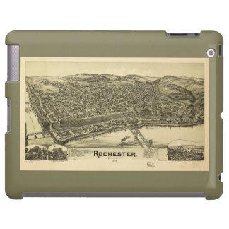 Rochester, Pennsylvania (1900) Funda Para iPad