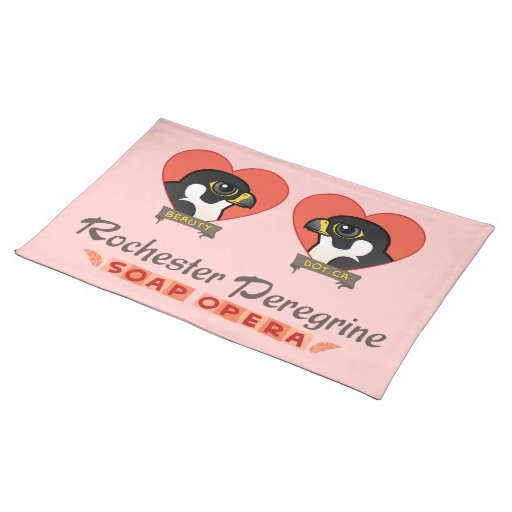 Rochester Peregrine Soap Opera Cloth Placemat