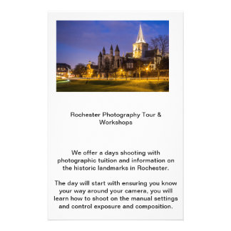 Rochester Photography Tours Personalised Flyer