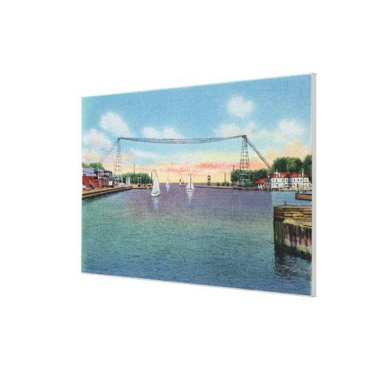 Rochester Port and NY Naval Militia Canvas Print