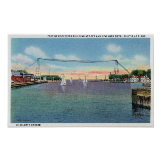 Rochester Port and NY Naval Militia Poster
