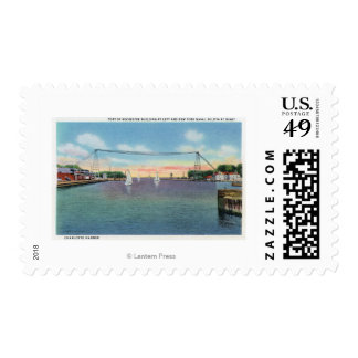 Rochester Port and NY Naval Militia Stamp