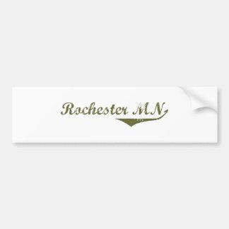 Rochester  Revolution t shirts Bumper Sticker