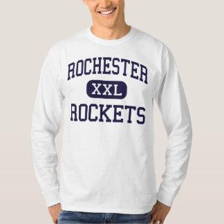 Rochester - Rockets - High - Rochester Illinois T-Shirt