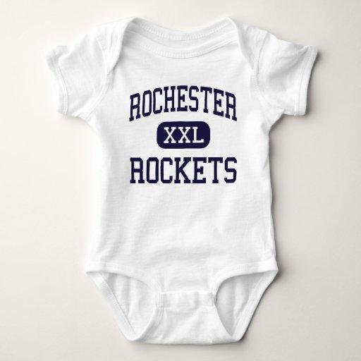 Rochester - Rockets - High - Rochester Illinois Tshirt