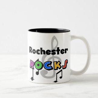 Rochester Rocks Two-Tone Coffee Mug