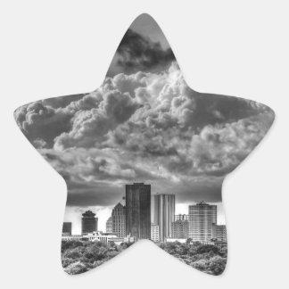 Rochester Skyline Star Sticker