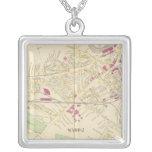 Rochester Square Pendant Necklace
