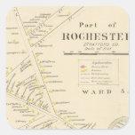 Rochester Square Sticker