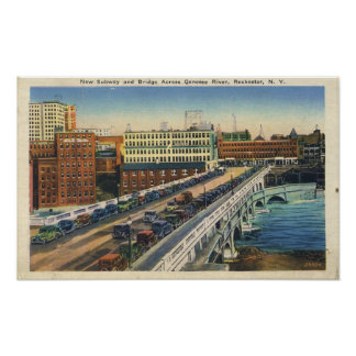 Rochester Subway and Broad Street Bridge Posters