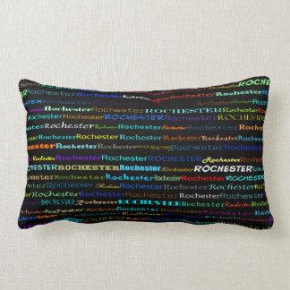 Rochester Text Design I Lumbar Pillow