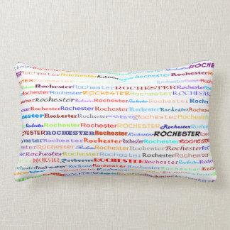 Rochester Text Design II Lumbar Pillow