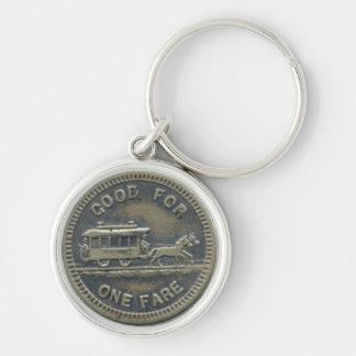 Rochester transit token PREMIUM keychain