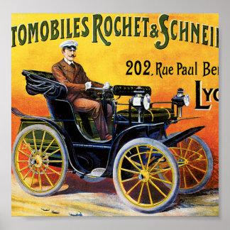 Rochet-Schneider Automobile Poster