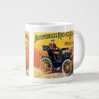 Rochet-Schneider Automobile 20 Oz Large Ceramic Coffee Mug