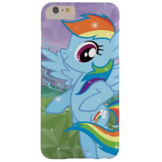 Rociada del arco iris funda de iPhone 6 plus barely there