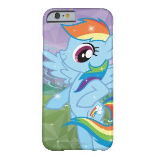 Rociada del arco iris funda barely there iPhone 6
