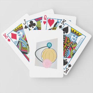Rociador del perfume baraja cartas de poker