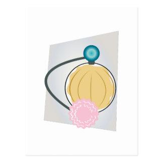 Rociador del perfume tarjetas postales