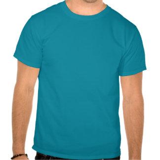 Rociadura de todos los ángulos camisetas