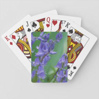 Rocío en las flores de Bell Baraja De Póquer