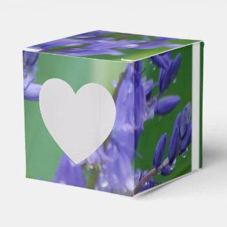 Rocío en las flores de Bell Caja Para Regalos De Fiestas