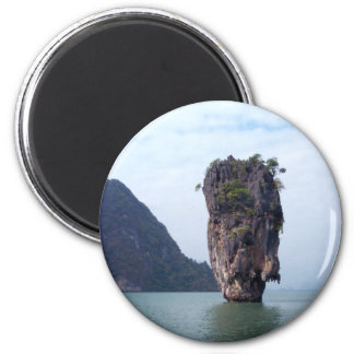 Rock 2 Inch Round Magnet