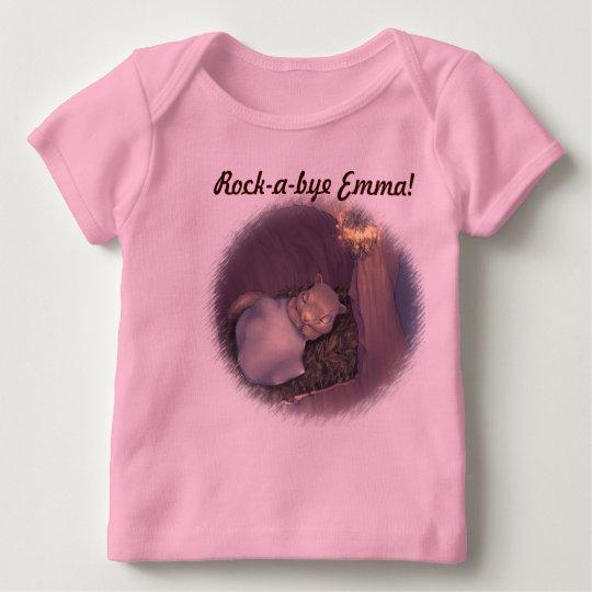 Rock-a-bye Baby- Customizable baby shirt