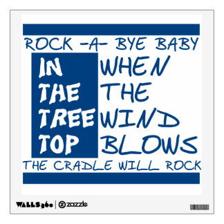 Rock A Bye Room Graphic