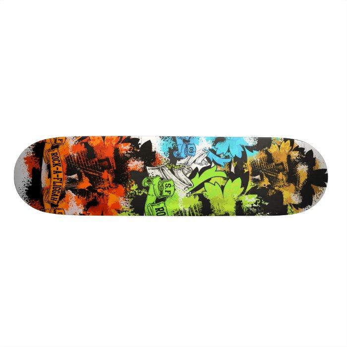 Rock-a-Fliggah Skateboard Deck