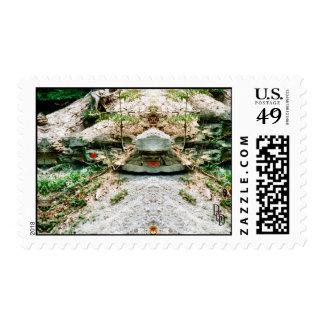 Rock Alter Stamp