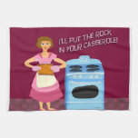 Rock and Casserole Hand Towel