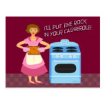 Rock and Casserole Post Cards