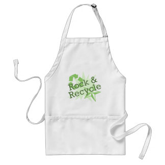 Rock and Recycle Adult Apron