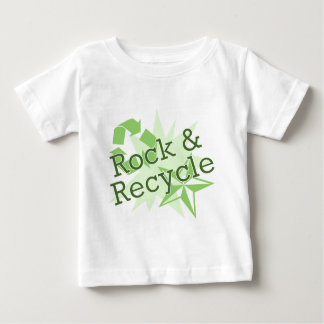 Rock and Recycle Baby T-Shirt