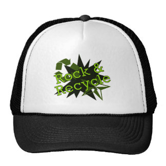 Rock and Recycle Trucker Hat