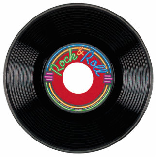 Rock and Roll 45 Record Cutout
