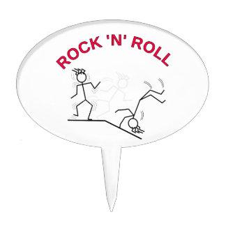 Rock-and-roll Figura Para Tarta