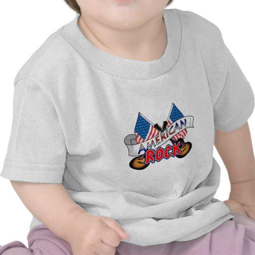 Rock-and-roll americano camiseta