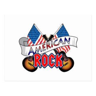 Rock-and-roll americano tarjeta postal