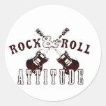 Rock and Roll attitude Pegatina