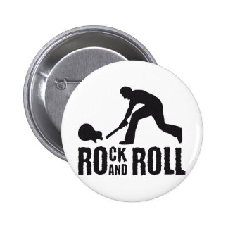 rock and roll pinback buttons